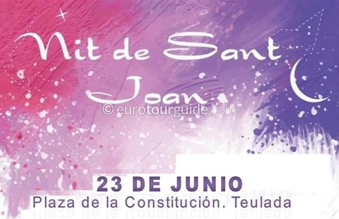Teulada San Juan Hogueras 23rd June 2018