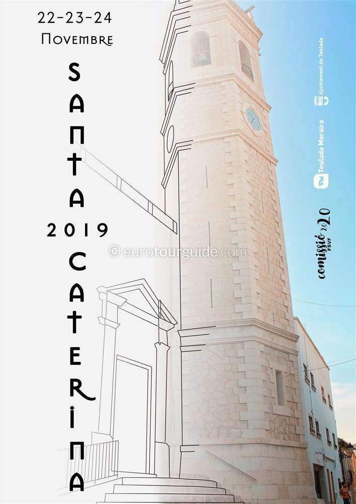 Teulada Santa Catalina Fiesta 22nd-24th November 2019