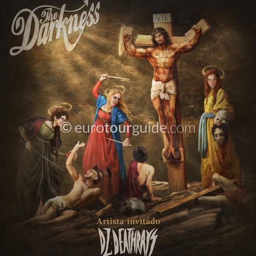 EuroTourGuide Coach Tour & Concert Ticket 31st January The Darkness Murcia Sala Gamma