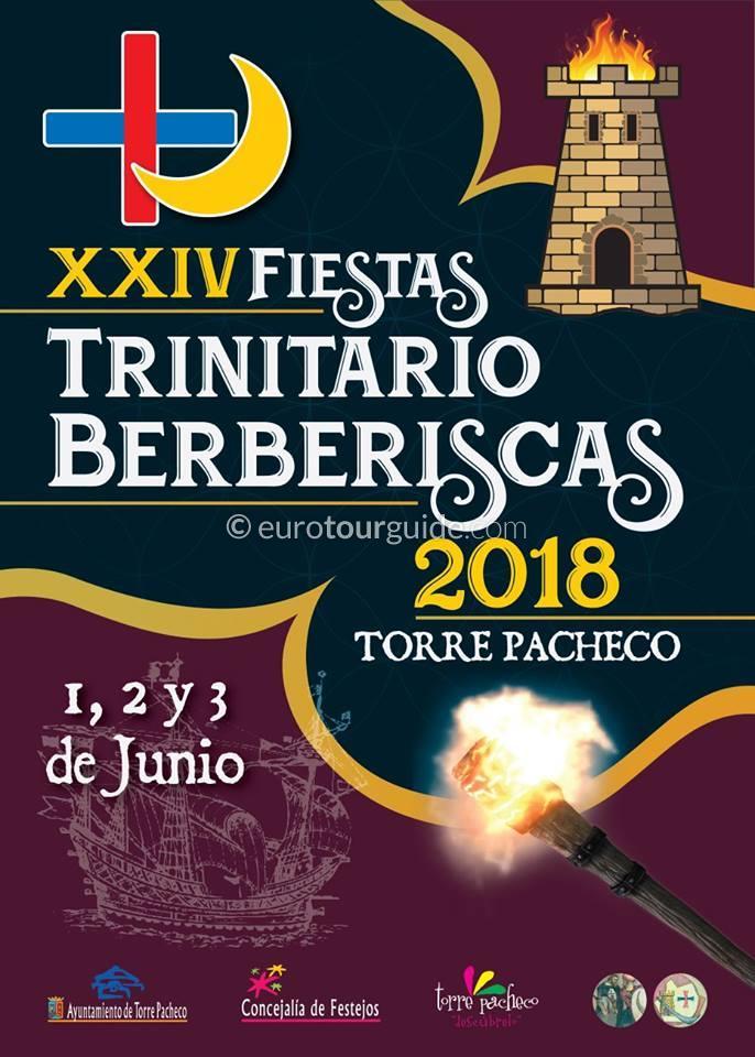 Torre Pacheco 24th Trinitario Berberiscas Fiesta 1st-3rd June 2018