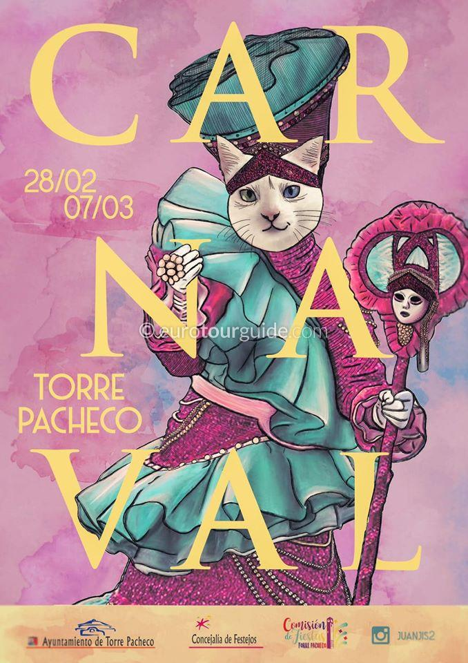 Torre Pacheco Carnival Parade 7th March 2020