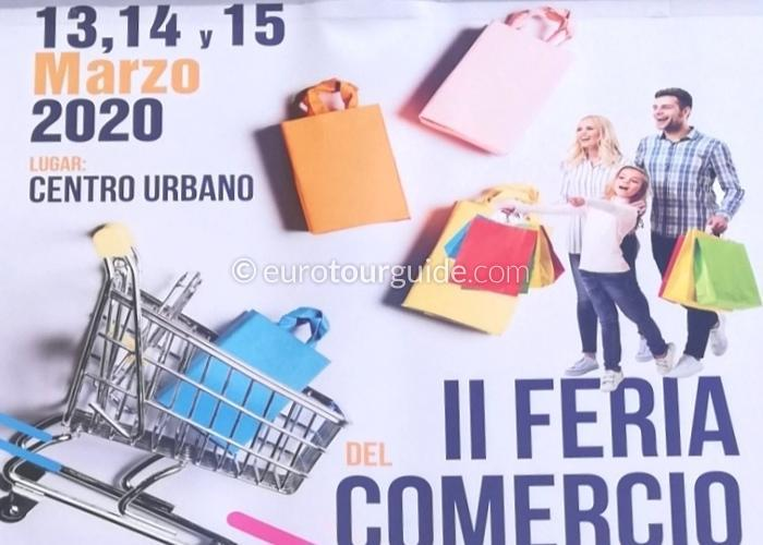 Torre Pacheco Commercial Fair 13th to 15th March 2020