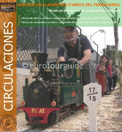 Torrellano, Elche Miniature Steam Train Rides