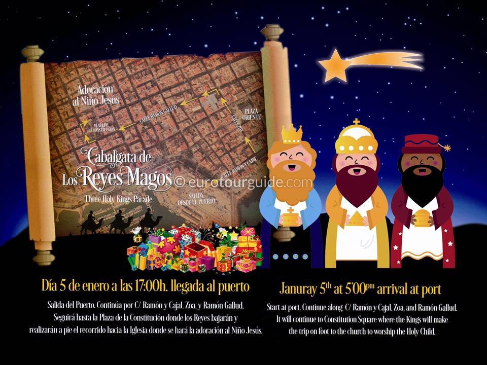 Torrevieja Three Kings 5th January 2020