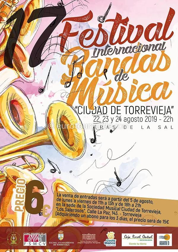 Torrevieja 17th International Band Festival 22nd-24th August 2019