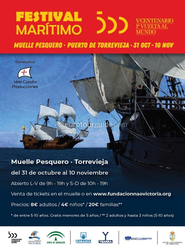 Torrevieja Maritime Festival 31st October - 10th November 2019