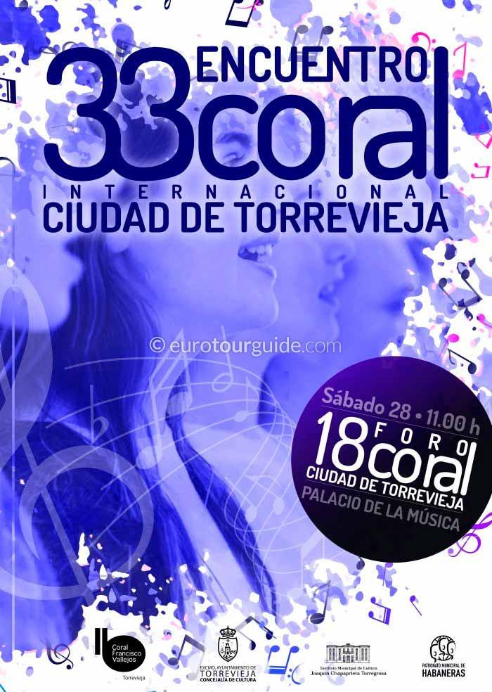 Torrevieja 33rd Coral Competition 27th & 28th September 2019