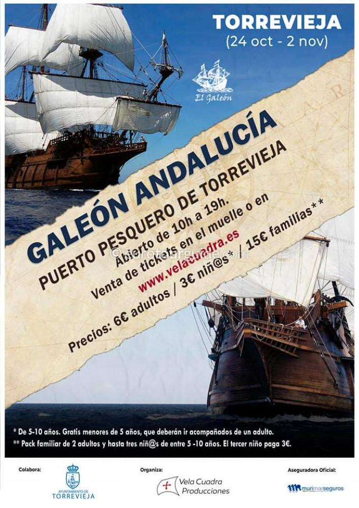 EuroTourGuide Torrevieja Galleon Andalucia October 2020