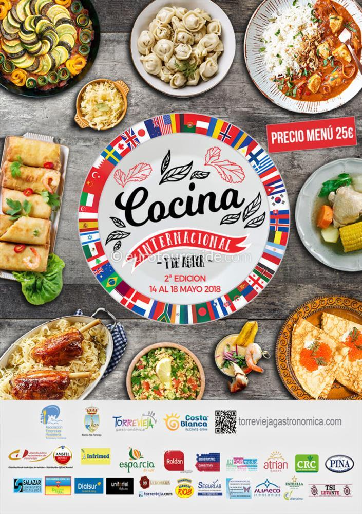 Torrevieja 2nd International Cuisine 14th-20th May 2018