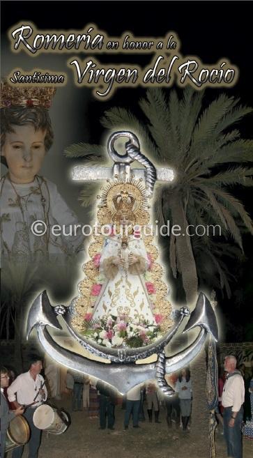 Torrevieja Romeria Virgen del Rocio 11th June 2016