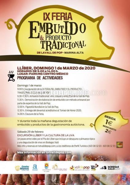 Lliber 9th Vall de Pop Traditional Fair 1st March 2020