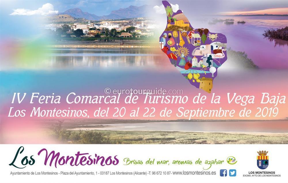Pilar de la Horadada 4th Vega Baja Tourism Fair 20th-22nd September 2019