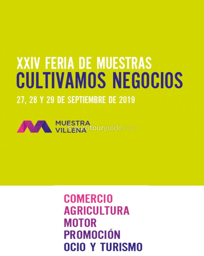 Villena Muestra Agricultural Fair 27th-29th September 2019