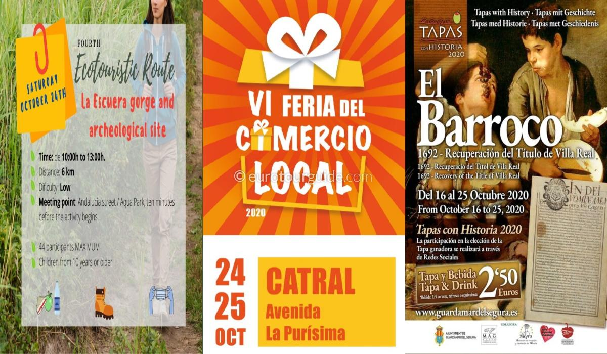EuroTourGuide Weekly Newsletter Whats on Costa Blanca 25th October 2020