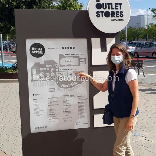 EuroTourGuide Coach Tour 15th July Alicante Outlet Stores and El Campello