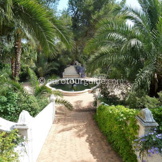 EuroTourGuide Coach Tour Thursday 23rd September l'Albarda Gardens and Moraira