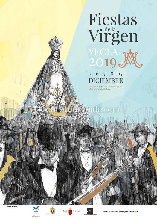 Yecla Fiesta of the Virgen del Castillo 6th-8th & 15th December 2019